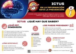 Ictus, en la información está la prevención